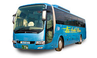 青木バス運行車両