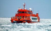 流氷砕氷船ガリンコ号(1号)