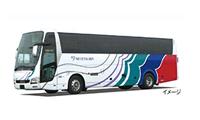 画像は名鉄バスの例です