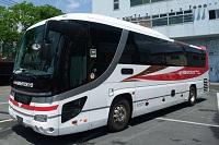 西東京バスと伊予鉄バスの共同運行