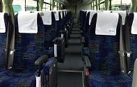 広島電鉄バスの車内